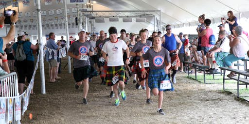 Glengarry Highland Games - Up The Glens 5k Kilt Run 2019