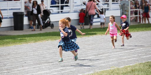Glengarry Highland Games - Children's Track Events 2019