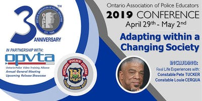 O.A.P.E. / OPVTA 2019 Conference and AGM
