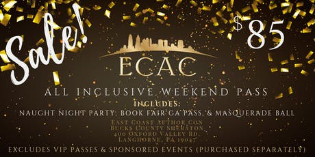 ECAC19 All Inclusive Weekend Pass tickets