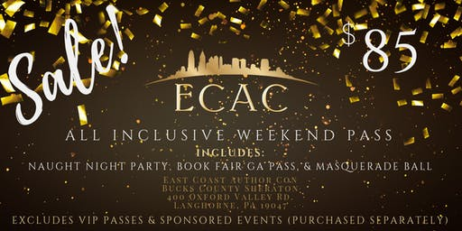 ECAC19 All Inclusive Weekend Pass