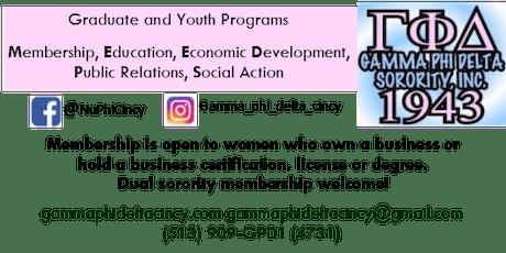 Gamma Phi Delta Sorority, Inc. - Nu Phi Chapter: Formal Information Session tickets