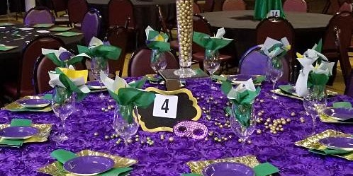2020 Atlanta Mardi Gras Ball - Early Bird Table Deposits