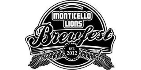 Monticello Lions Brewfest 2019 tickets