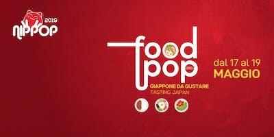 NipPop 2019 - #FoodPop: Giappone da gustare