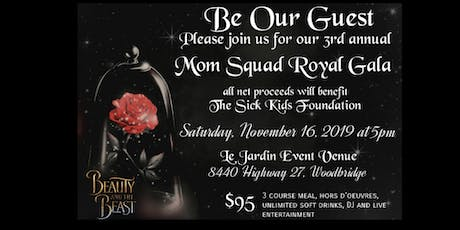 3rd Annual Squad For Kids Gala in support of Sick Kids Hospital tickets