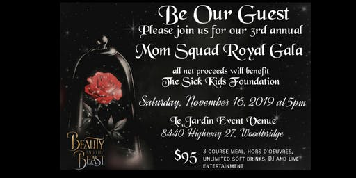 3rd Annual Squad For Kids Gala in support of Sick Kids Hospital