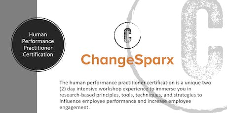 ChangeSparx: Human Performance Practitioner Certification - October 2019 tickets