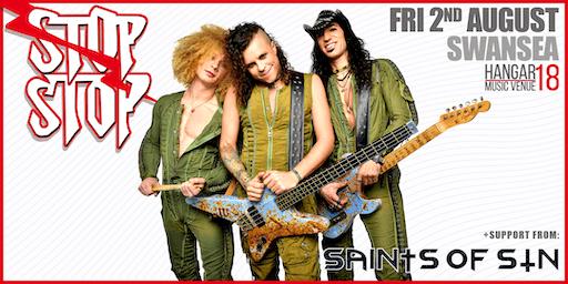 StOp, sToP! Live @ Hangar 18 Music Venue