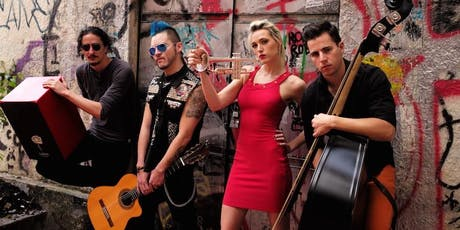 Jenny and the Mexicats @ Slim's   w/ Bang Data tickets