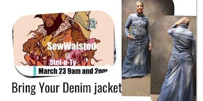 2pm Denim Coat Dress class