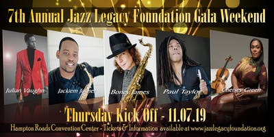 BONEY JAMES - JACKIEM JOYNER - PAUL TAYLOR - JULIAN VAUGHN - CHELSEY GREEN