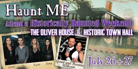 Haunt ME's Historically Haunted Weekend tickets