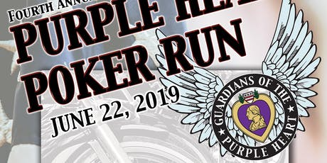 Purple Heart Poker Run 2019 tickets