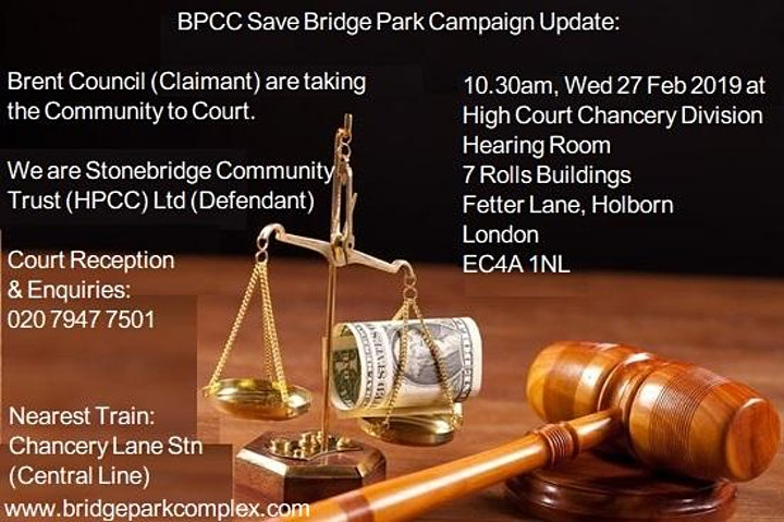 BPCC Community Beneficiaries attending afternoon session2 - High Court image