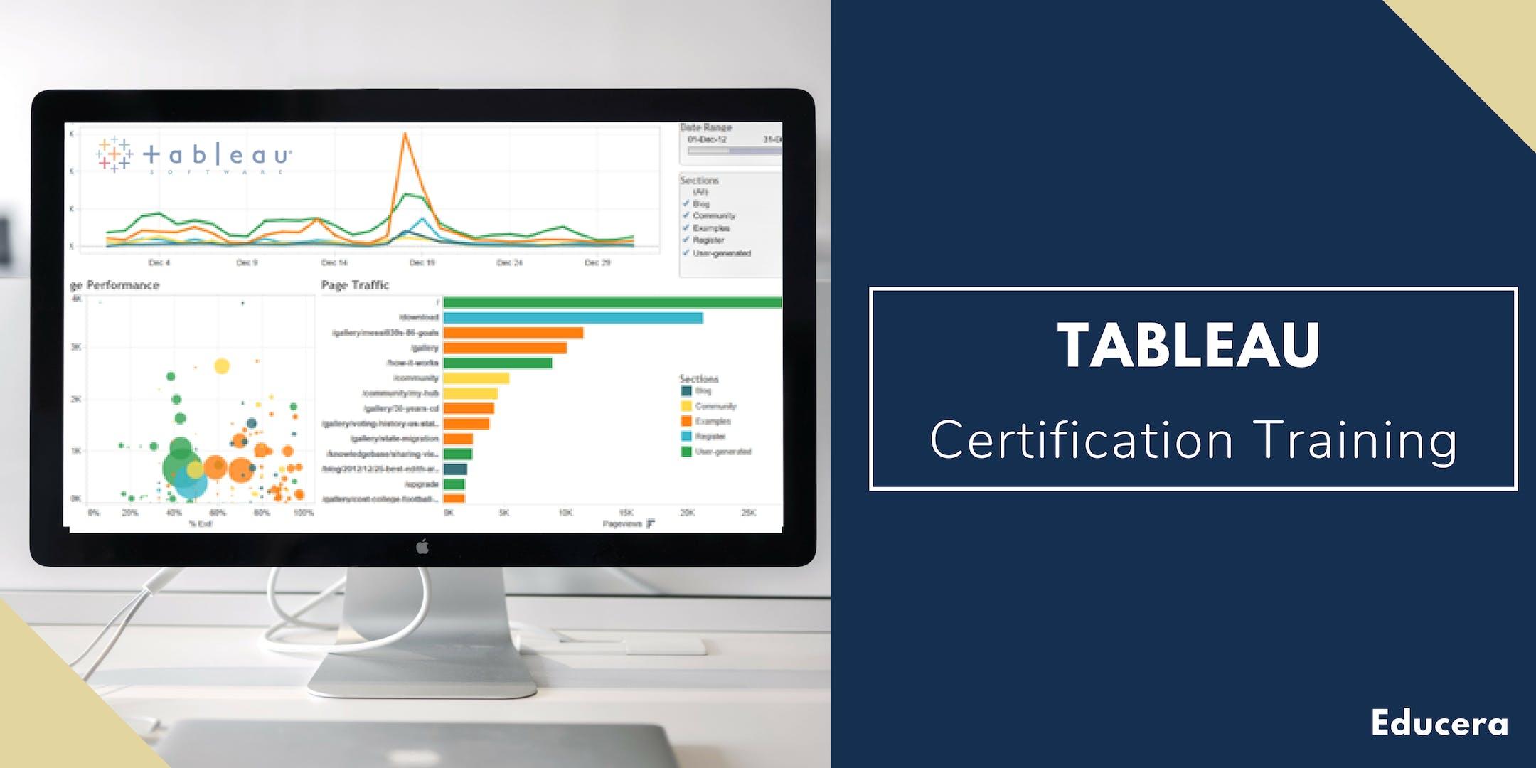 Tableau Certification Training in Parkersburg