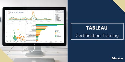 Tableau Certification Training in San Luis Obispo, CA