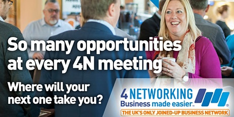 4Networking Newton Abbot - Business Networking Breakfast Meeting tickets
