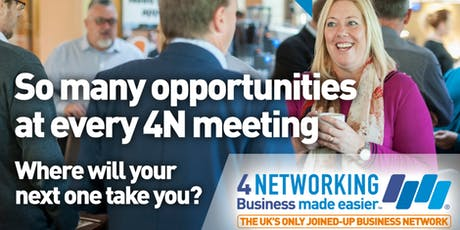 4Networking Exeter - Business Networking Breakfast Meeting in Exeter tickets