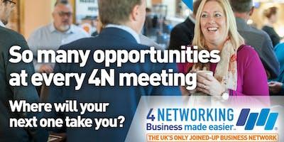 4Networking Bridgwater - Business Networking Breakfast Meeting