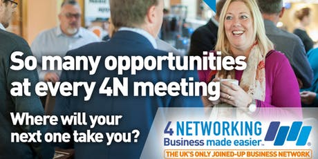 4Networking Bridgwater - Business Networking Breakfast Meeting tickets