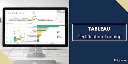 Tableau Certification Training in Winston Salem, NC