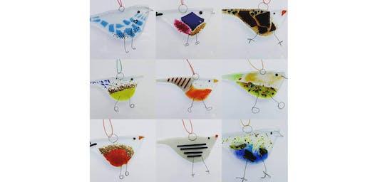 Fused Glass Bird Workshop
