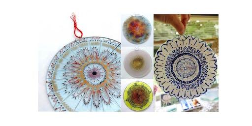 Fused Glass Mandala