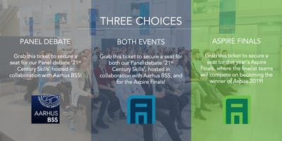 Aspire Final & Panel Debate: 21st Century Skills
