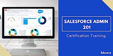 Salesforce Admin 201 Certification Training in Burlington, VT tickets