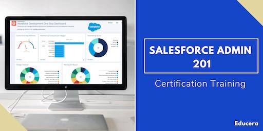 Salesforce Admin 201 Certification Training in Burlington, VT