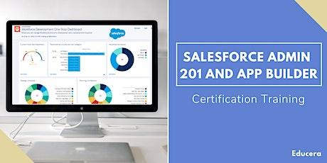 Salesforce Admin 201 and App Builder Certification Training in Salinas, CA tickets