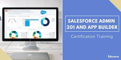 Salesforce Admin 201 and App Builder Certification Training in Santa Barbara, CA