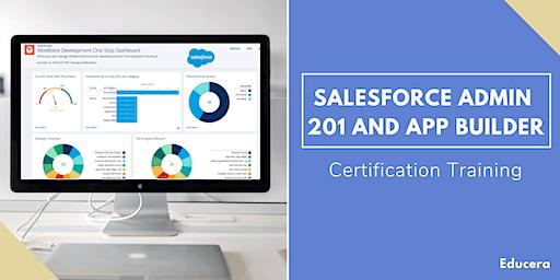 Salesforce Admin 201 and App Builder Certification Training in Visalia, CA