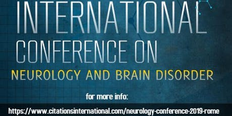 International conference on Neurology and Brain Disorders biglietti