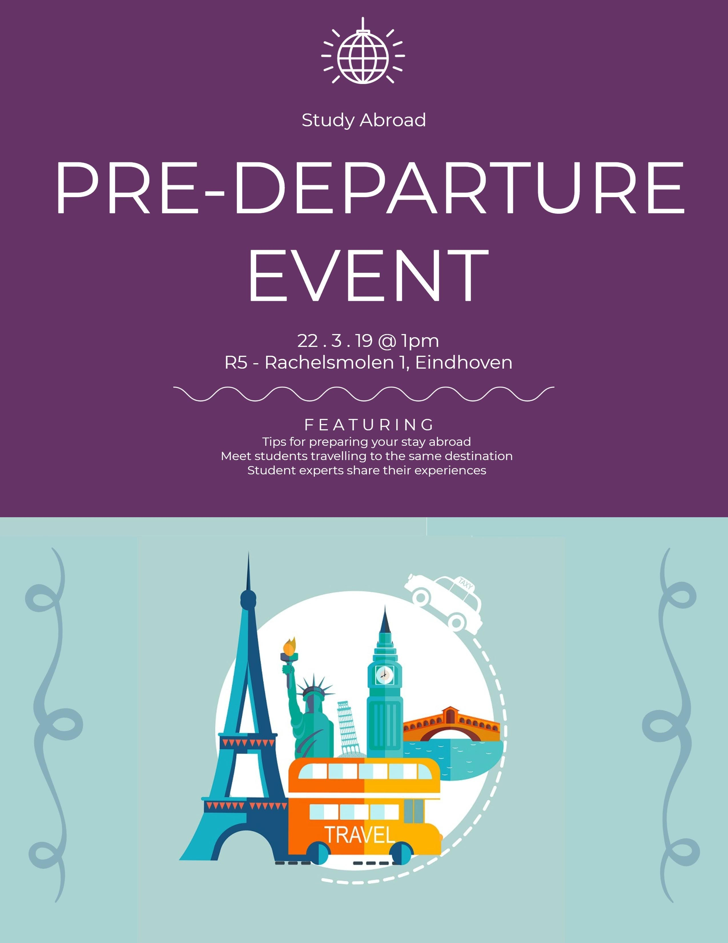 Fontys Study Abroad Pre-departure Event Fall