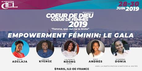 """Empowerment féminin"": Le Gala billets"