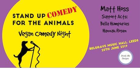 Vegan Comedy Night Fundraiser tickets