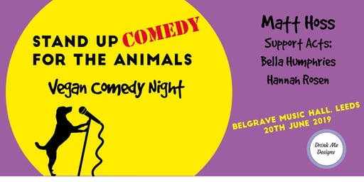 Vegan Comedy Night Fundraiser