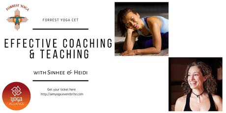 Forrest Yoga CET (Kuala Lumpur): Effective Coaching and Teaching with Sinhee & Heidi tickets