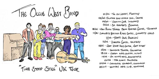 The Ollie West Band - Live at Wessex Arts Centre