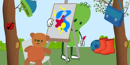 Meet Green Bean & Mr Bear - The Toy Shop