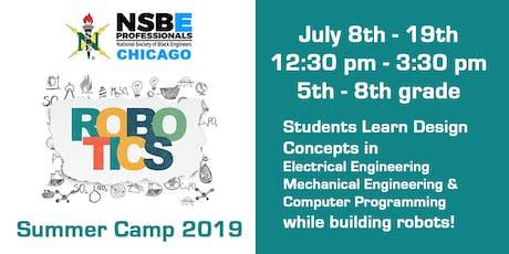 Chicago NSBE Robotics Summer Camp tickets