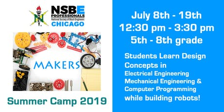 Chicago NSBE Makers Summer Camp tickets