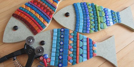 Make a Mosaic Creature - Fish, Bird or Butterfly tickets