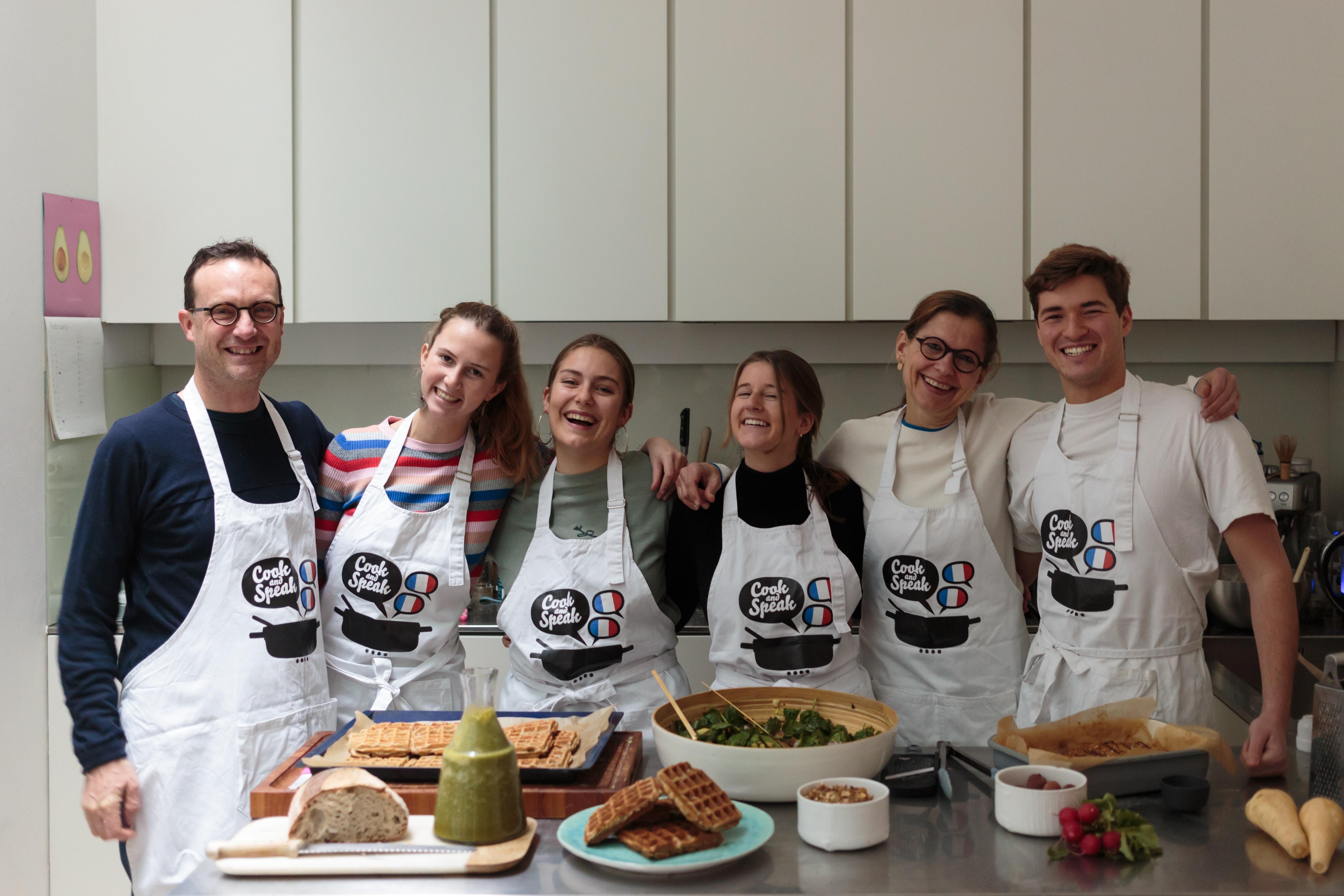 COOK AND SPEAK BRUNCH: Les 5 sens en cuisine