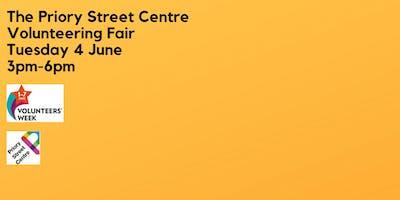 Priory Street Centre Volunteering Fair