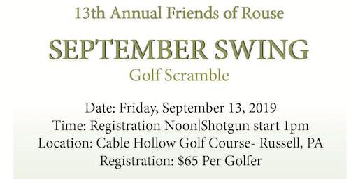 September Swing Golf Scramble