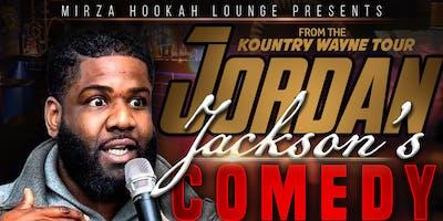 Jordan Jackson Comedy Night At Mirza Hookah Lounge
