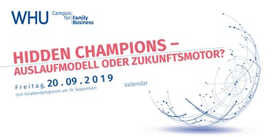 WHU Campus for Family Business 2019 - Registrierung